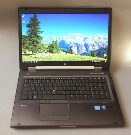 17'Core i5(2gen.)HP EliteBook 8760W (Работна станция SSD)