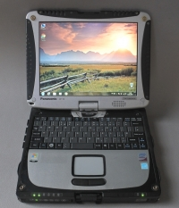 Panasonic Toughbook CF 19 Touchscreen SSD