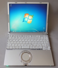 Panasonic Toughbook CF W5 (Made in Japan)