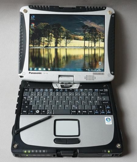 Panasonic Toughbook CF 19 Таблет (touchscreen , SSD)