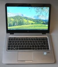 Core i5(6gen.)HP EliteBook 840 G3 (Full hd touchscreen,256ssd)