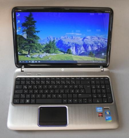 Core i7QM (Quad) HP Pavilion dv6 6b55eg(Gamer 2 video)
