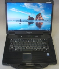 Panasonic Toughbook CF 52 (Ati Radeon HD 3650 с 1920\1200p)