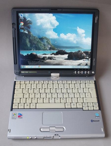 Fujitsu Lifebook T4010D (Wacom tablet)